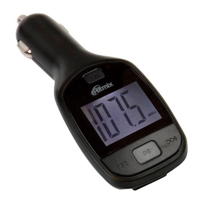 Ritmix FMT-A705 FM-трансмиттерFMT-A705Ritmix FMT-A705 – это удобный и доступный по цене автомобильный FM-трансмиттер с дисплеем, имеющий функцию воспроизведения аудиофайлов непосредственно с карт памяти microSD, SD и USB-накопителей ёмкостью до 32 ГБ. Устройство позволяет слушать вашу любимую музыку или аудиокниги в формате mp3 в любом автомобиле, имеющем FM-радиоприёмник.В комплекте с FMT-A705 идёт пульт дистанционного управления, дающий возможность простого управления воспроизведением, в том числе и с заднего сидения автомобиля.Форматы аудио: MP3Шаг поиска канала: 0,1 МГцМощность передатчика: Эквалайзер: 4 режимаДиапазон радиочастот: FM 87,5-108 МГцРадиус действия: до 5 м