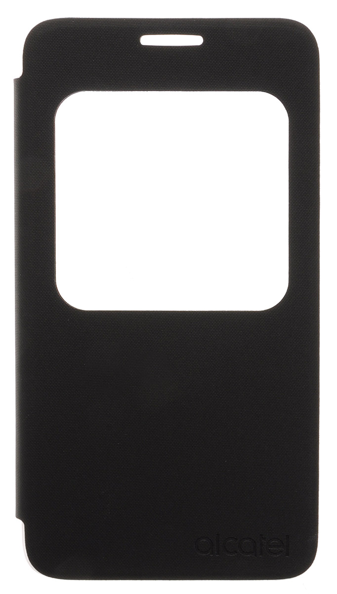 Alcatel Aero Flip Case чехол для Pop 4+ (OT-5056D), Volcano Black смартфон alcatel ot 5022d pop star black slate