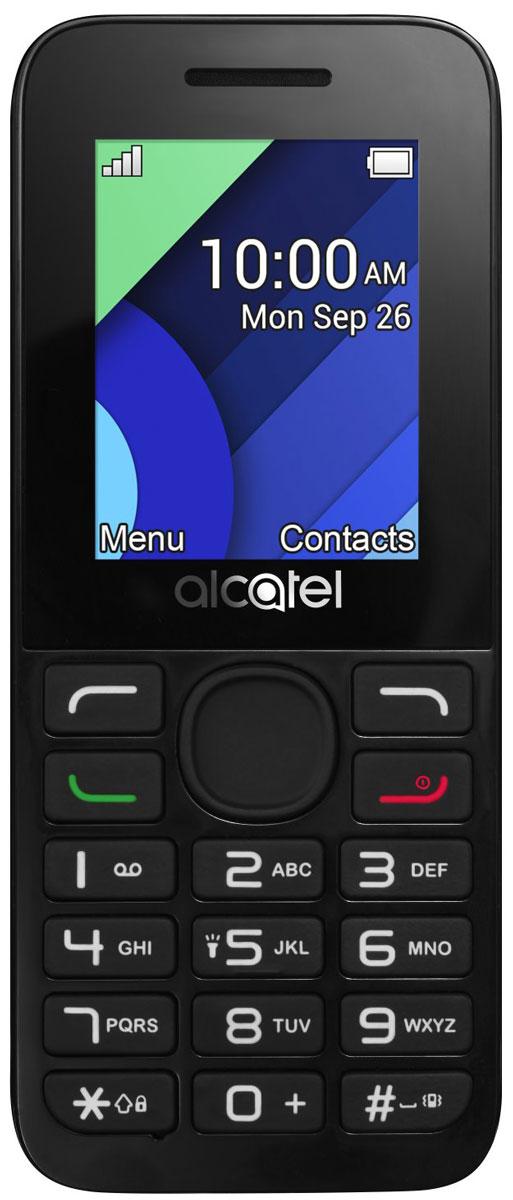 Alcatel 1054D, Charcoal Grey1054D-3AALRU1Alcatel OT-1054D поддерживает работу с двумя SIM-картами в режиме ожидания, за счет чего он может использоваться в качестве личного и рабочего одновременно. Кроме того, наличие двух карт позволяет эффективно управлять тарифами различных мобильных операторов, уменьшая уровень расходов.Дисплей телефона с диагональю 1,8 дюйма создан с применением технологии TFT. Благодаря этому картинка на нем всегда выглядит яркой и контрастной.Данная модель может воспроизводить файлы в формате MP3. Встроенный фонарик пригодится людям, которые часто ходят пешком в темноте, а также туристам.Телефон сертифицирован EAC и имеет русифицированную клавиатуру, меню и Руководство пользователя.