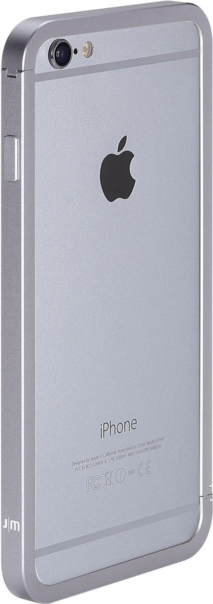 Just Mobile AluFrame Aluminum Bumper чехол для Apple iPhone 6 Plus, GrayAF-269GYJust Mobile AluFrame Aluminum Bumper - качественный бампер для Apple iPhone 6 Plus надежно защитит ваш телефон от царапин, сколов и незначительных механических повреждений. Он имеет все необходимые технологические отверстия, которые позволят вам получить доступ к полному набору функций телефона, его разъемам и портам.