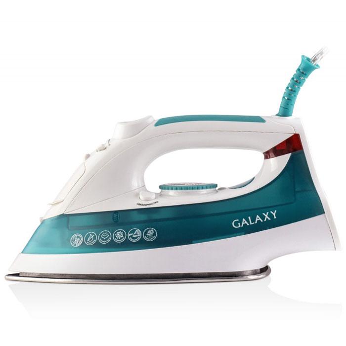 Galaxy GL 6104 утюг4630003361844Современный утюг Galaxy GL 6104 облегчает уход за одеждой и безусловно порадует вас своими поистине безграничными возможностями. Ультрагладкая подошва утюга GL 6104 из нержавеющей стали обеспечивает идеальное скольжение и избавит ваши вещи даже от самых сложных складок.Прибор обладает всеми необходимыми характеристиками для отличного результата: сухое глажение, отпаривание с регулировкой, функция разбрызгивания, возможность вертикального отпаривания. Модель оснащена функциями парового удара и самоочистки, а также системами анти-капля и анти-накипь. Сетевой шнур длиной 2 метра крепится при помощи шарового механизма, что не позволяет ему запутаться во время эксплуатации.Силиконовый уплотнитель крышки резервуараУказатель максимального уровня водыИндикатор нагрева