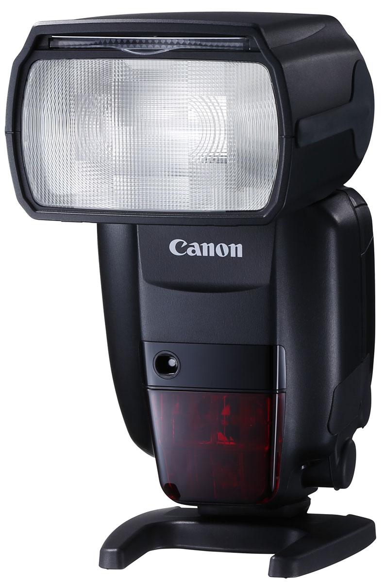 Canon Speedlite 600EX II-RT вспышка1177C003Вспышка Speedlite 600EX II-RT разработана для скоростной съемки даже в самых сложных условиях. Она обеспечивает полный контроль над освещением, ее можно использовать отдельно от камеры или установить на горячий башмак камеры.Вспышка Speedlite 600EX II-RT — идеальный аксессуар для камеры EOS-1D X Mark II — обеспечит непревзойденные результаты. Время непрерывного срабатывания вспышки увеличено на 50% в сравнении со вспышкой Speedlite 600EX-RT, а с аккумулятором CP-E4N можно выполнять еще более продолжительную съемку.Улучшенный алгоритм управления вспышкой предотвращает перегрев, а функция Quick Flash позволяет не пропустить важный момент, гарантируя срабатывание вспышки Speedlite 600EX II-RT даже при неполной перезарядке. Зум и головка вспышки обеспечивают соответствие покрытия вспышки используемому для съемки объективу и дают возможность свету вспышки отражаться от стен и потолка для получения более естественного результата. Вспышка Speedlite 600EX II-RT обладает тем же уровнем защиты от погодных факторов, что и камера EOS-1D X Mark II, обеспечивая возможность съемки даже в самых сложных условиях.В комплект поставки входят адаптер отражателя, который позволяет смягчить свет при съемке портретов, и цветные фильтры, использование которых позволяет сбалансировать свет от вспышки с естественным освещением.Установите вспышку Speedlite 600EX II-RT отдельно от камеры, чтобы добиться освещения объекта с любой стороны. Используйте вспышку на расстоянии до 30 м благодаря встроенному радио- или оптическому управлению и дополнительно приобретаемому устройству беспроводного управления — передатчику для вспышек Speedlite ST-E3-RT. Возможно одновременное использование нескольких вспышек Speedlite 600EX II-RT (отдельно или в группах) и использование в сочетании с другими вспышками Canon, например Speedlite 430EX III-RT.Вспышка Speedlite 600EX II-RT отличается высокой мощностью, поэтому вы будете всегда удовлетворены полученным результатом. 