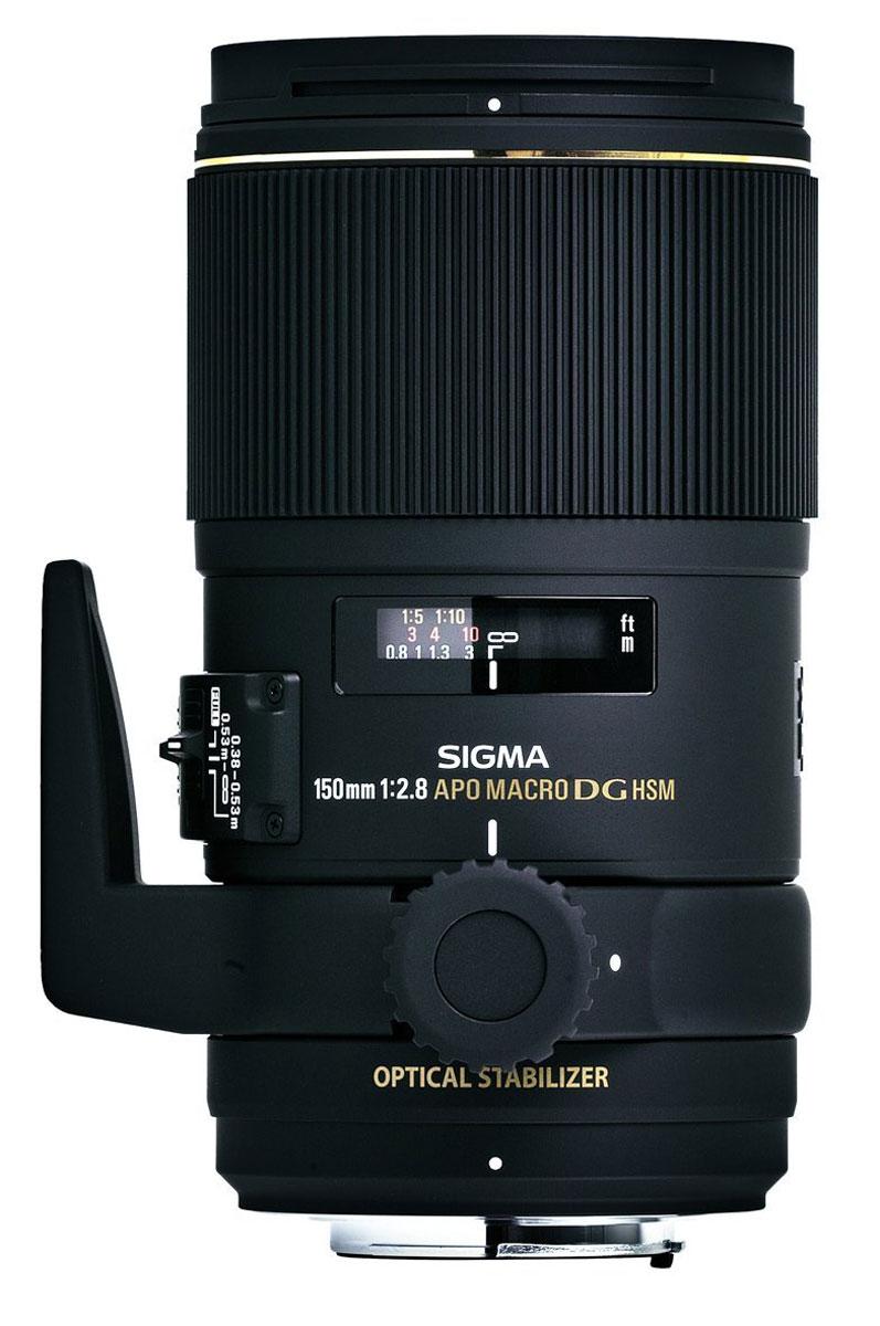 Sigma AF 150mm f/2.8 APO Macro EX DG OS HSM макрообъектив для Sony sigma af 70 200mm f2 8 ii apo ex dg macro hsm canon ef