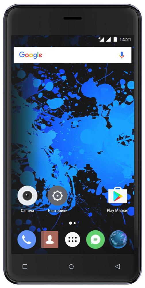Highscreen Power Rage Evo, Blue23527Highscreen Power Rage Evo — металлический смартфон с мощным аккумулятором.Давно мечтал о новом смартфоне, который круто выглядит, долго работает, да еще и имеет металлический корпус? Highscreen реализовали твои мечты в Power Rage Evo.Отличительная особенность серии Power – батарея с рекордной ёмкостью, которая позволяет использовать все возможности твоего смартфона.Power Rage Evo построен на базе энергоэффективного Android 6, процессора MT6737 и обладает 3 ГБ оперативной памяти, что позволяет ему справляться с любыми задачами и эффективно контролировать заряд батареи.Смартфон ощущается и выглядит дороже своей стоимости, изящные линии корпуса и металлическая крышка выделяют Power Rage Evo из толпы безликих смартфонов.Power Rage Evo обладает ярким и контрастным 5-дюймовым IPS-дисплеем, закругленным по краям. Экран отображает естественные цвета, поэтому смотреть фильмы и играть в игры на нем особенно приятно.Получай крутые кадры благодаря отличной 13 Мп основной камере и 5 Мп фронтальной. Ты можешь моментально выбирать нужные фильтры и изменять настройки по своему усмотрению. Создавай настоящие шедевры и делись ими с близкими.Highscreen Power Rage Evo приведет тебя в правильное место, ведь он одновременно поддерживает сразу две системы спутниковой навигации, российский ГЛОНАСС и американский GPS.Смартфон может работать с двумя SIM-картами (с поддержкой российских сетей 4G/LTE), общайся с друзьями и решай важные вопросы по самым выгодным тарифамТелефон сертифицирован EAC и имеет русифицированный интерфейс меню и Руководство пользователя.