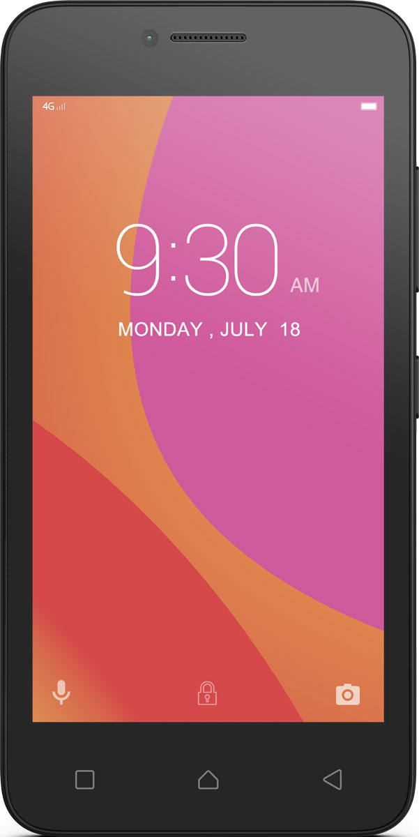 Lenovo B (A2016), Black - Смартфоны