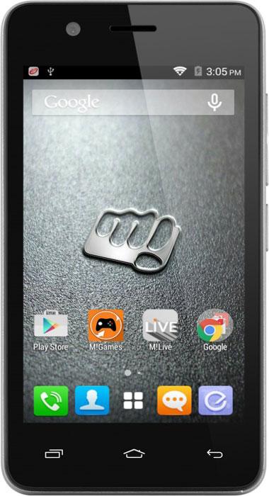 Micromax Bolt Q326, GreyQ326Будьте готовы к быстрой работе. Представляем Micromax Bolt Q326 - смартфон отлично подходящий для серфинга в интернете, прослушивания музыки, просмотра видео и многих других развлечений.Насладитесь быстрой и плавной работой системы и приложений. Отличную производительность обеспечивает четырехъядерный процессор Spreadtrum SC7731 с частотой 1.3 ГГц.Смотрите свои любимые видео и фильмы на четком и ярком 4-дюймовом экране Micromax Bolt Q326.В Micromax Bolt Q326 вы можете увеличить место для своих фото, видео и любимых фильмов с помощью карт памяти. Поддерживают карты памяти размером до 32 ГБ!Оставайтесь на связи на двух разных номерах одновременно благодаря поддержке двух SIM-карт. Micromax Bolt Q326 позволяет формировать ваш бюджет на связь более гибко.Телефон сертифицирован EAC и имеет русифицированный интерфейс меню и Руководство пользователя.