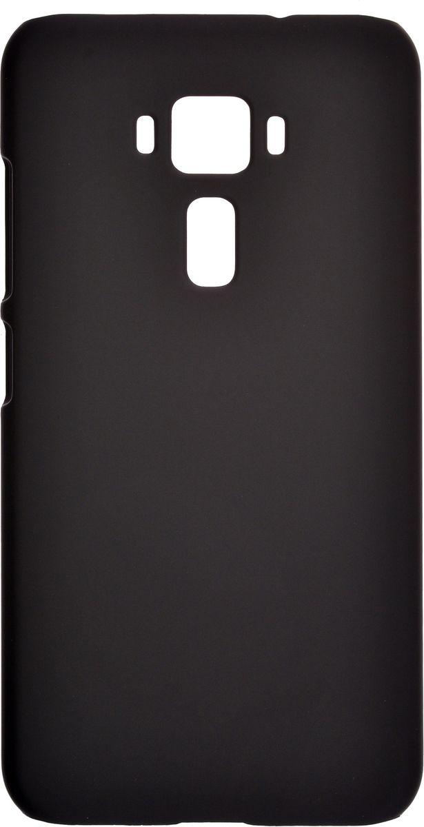 Skinbox 4People чехол-накладка для Asus Zenfone 3 ZE520KL + защитная пленка, Black чехлы для телефонов skinbox накладка для asus zenfone 3 ze520kl skinbox серия 4people защитная пленка в комплекте