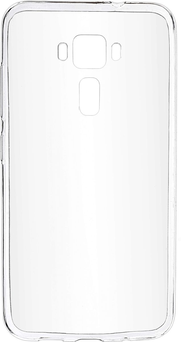 Skinbox Slim Silicone чехол-накладка для Asus Zenfone 3 ZE520KL, Crystal2000000099040Чехол-накладка Skinbox Slim Silicone для Asus Zenfone 3 (ZE520KL) надежно защитит ваш смартфон от внешних воздействий, грязи, пыли, брызг. Он также поможет при ударах и падениях, не позволив образоваться на корпусе царапинам и потертостям. Чехол обеспечивает свободный доступ ко всем функциональным кнопкам, разъёмам и камере смартфона.