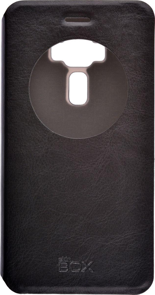 Skinbox Lux AW чехол для Asus Zenfone 3 ZE520KL, Black2000000105062Чехол Skinbox Lux AW для Asus Zenfone 3 (ZE520KL) выполнен из высококачественного поликарбоната и экокожи. Он обеспечивает надежную защиту корпуса и экрана смартфона и надолго сохраняет его привлекательный внешний вид. Чехол также обеспечивает свободный доступ ко всем разъемам и клавишам устройства.