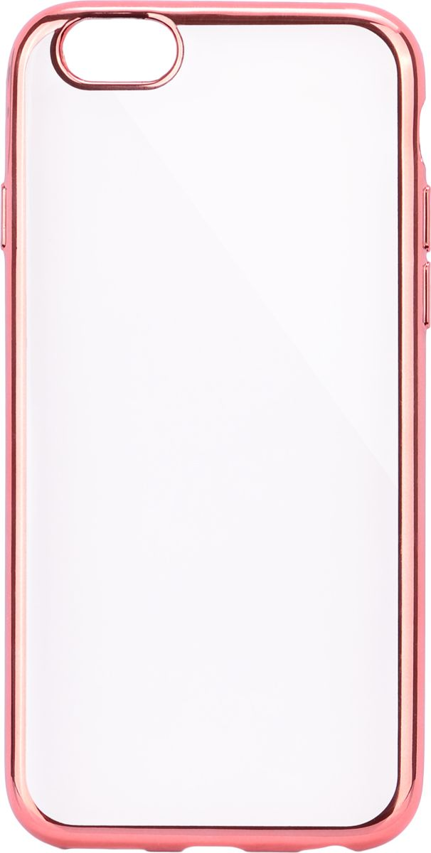 Interstep Frame чехол для Apple iPhone 6 Plus/6s Plus, Pink чехол для iphone interstep для iphone x soft t metal adv красный