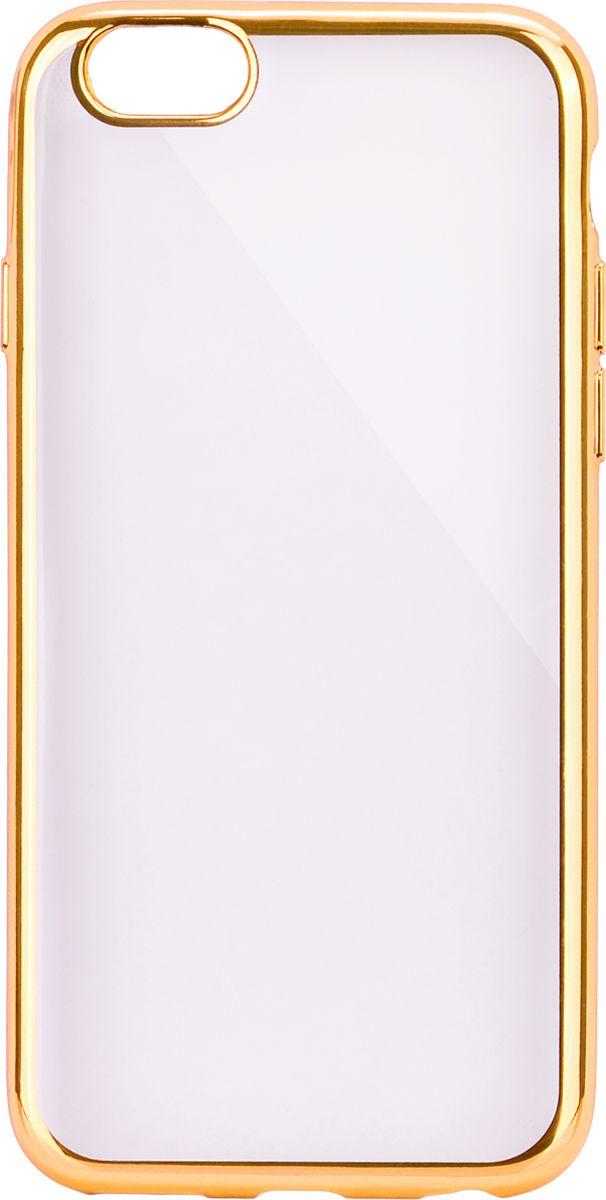 Interstep Frame чехол для Apple iPhone 6/6s, GoldHFR-APIPHN6K-NP1116O-K100Стильный ультратонкий чехол Interstep Frame для Apple iPhone 6/6s обеспечивает надежную защиту корпуса смартфона от механических повреждений и надолго сохраняет его привлекательный внешний вид. Элегантное гальванопокрытие не подвержено стиранию, модная цветовая гамма рамки сочетается с цветами смартфонов Apple, выгодно подчеркивая их. Чехол также обеспечивает свободный доступ ко всем разъемам и клавишам устройства.