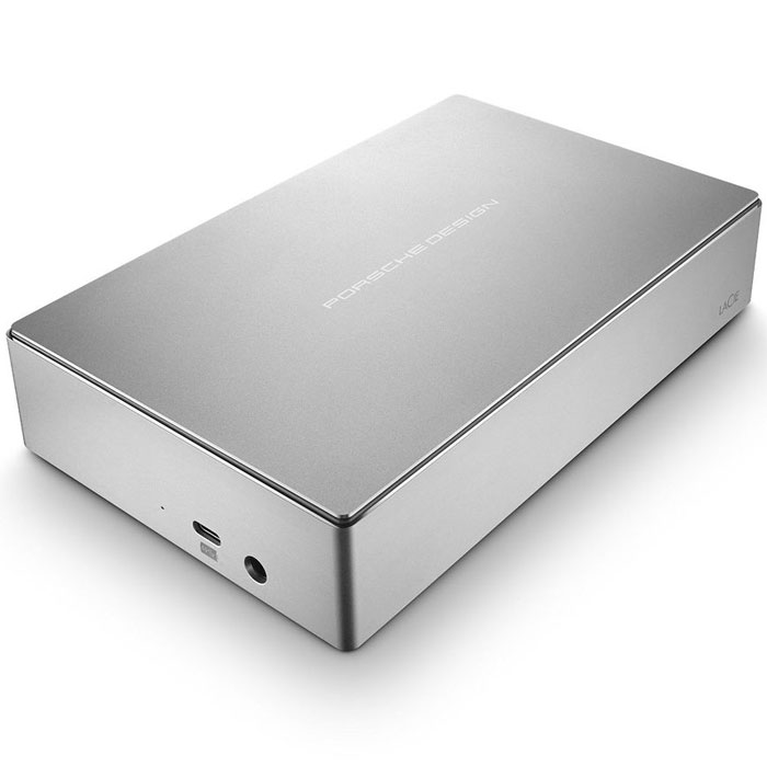 LaCie Porsche Design Desktop Drive 5TB, Silver внешний жесткий диск (STFE5000200) - Носители информации