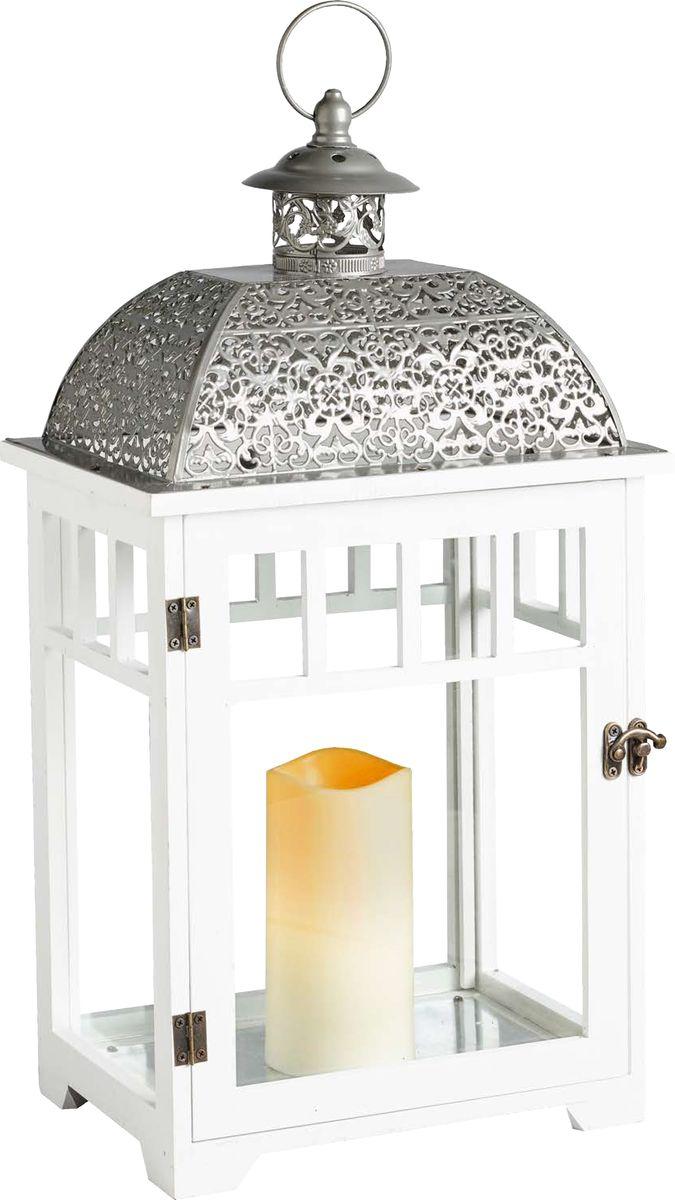 Фонарь Gardman Bamburgh со светодиодной свечой18714Фонарь станет прекрасным украшением вашего дома и сада. Фонарь со светодиодной свечой и таймером: автоматическое включение на 6 часов -выключение на 18 часов. Работает от 2 батареек С (в комплект включены).