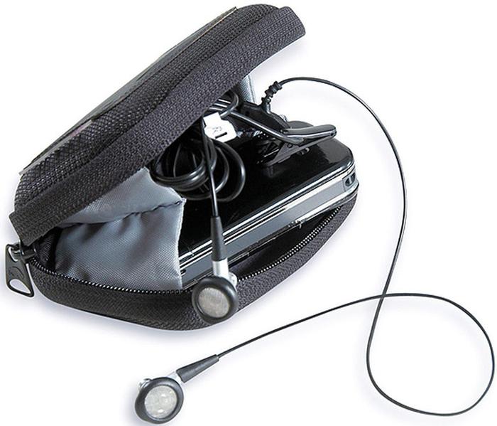Сумка-чехол для фотоаппарата Tatonka Protection Pouch S, цвет: черный2940.040Универсальная поясная сумочка с жесткими стенками. Вставки из пенопласта гарантируют сохранность фотоаппарата, электронных приборов, очков и любых других предметов, требующих аккуратного обращения. Сумочка застегивается на молнию. Внутри имеется сетчатый кармашек и боковые вставки из ткани, чтобы содержимое не выпало при открывании.