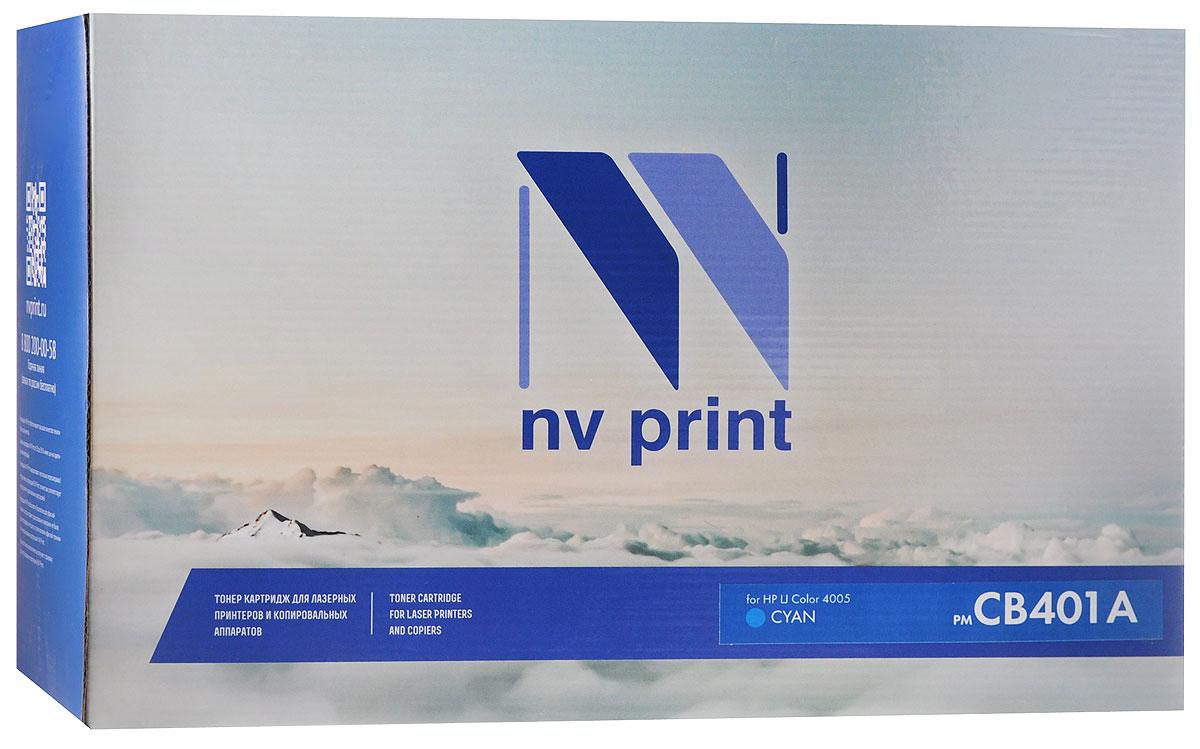 NV Print CB401A, Cyan тонер-картридж для HP LaserJet Color 4005CB401ACСовместимый лазерный картридж NV Print CB401A для печатающих устройств HP - это альтернатива приобретению оригинальных расходных материалов. При этом качество печати остается высоким.Лазерные принтеры, копировальные аппараты и МФУ являются более выгодными в печати, чем струйные устройства, так как лазерных картриджей хватает на значительно большее количество отпечатков, чем обычных. Для печати в данном случае используются не чернила, а тонер.