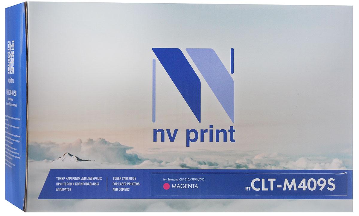 NV Print CLT-M409S, Magenta тонер-картридж для Samsung CLP-310/310N/315CLT-M409SMСовместимый лазерный картридж NV Print CLT-M409S для печатающих устройств Samsung - это альтернатива приобретению оригинальных расходных материалов. При этом качество печати остается высоким.Лазерные принтеры, копировальные аппараты и МФУ являются более выгодными в печати, чем струйные устройства, так как лазерных картриджей хватает на значительно большее количество отпечатков, чем обычных. Для печати в данном случае используются не чернила, а тонер.