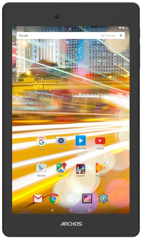 Archos 70 Oxygen70 OXYGENArchos 70 Oxygen можно назвать произведением искусства в мире планшетов. Он обладает прекрасным экраном, поддерживающим разрешение Full HD, что обеспечивает великоолепное изображение, а благодаря технологии IPS углы обзора становятся действительно широкими.Оснащенный 4-ядерным процессором Archos 70 Oxygen справится с любыми вашими задачами. Запускайте приложения, играйте, смотрите кино в разрешении Full HD и наслаждайтесь работой планшета, который не жертвует производительностью и временем работы батареи.Работающий на платформе Android 6.0 Marshmallow Archos 70 Oxygen получил обновленный интерфейс пользователя, ставший еще более удобным и интуитивным. Marshmallow также предоставляет новые функции, такие как Google Now on Tap и многие другие.Этот планшет отражает в дизайне новейшие тренды в мире электроники. Он оптимально подходит для ежедневного использования и отличается элегантным внешним видом, что подчеркивает алюминиевый корпус.Archos 70 Oxygen - этоидеальный компаньон для запечатления своих впечатлений с помощью фотографий и для проведения видео-чатов с близкими. Используйте обе камеры по максимуму.Планшет сертифицирован EAC и имеет русифицированный интерфейс меню, а также Руководство пользователя.