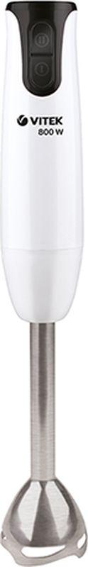 Vitek VT-3428 W блендер погружнойVT-3428(W)Блендер Vitek VT-13428 W - это простота управления, функциональность, изысканный дизайн, доступная стоимость и исключительный результат.Данная модель компактна и легка в использовании. Прибор оснащен нескользящей рукояткой, на которой в удобном месте располагаются кнопки управления режимами.Эффективная работа прибора также достигается благодаря нескольким скоростям работы.