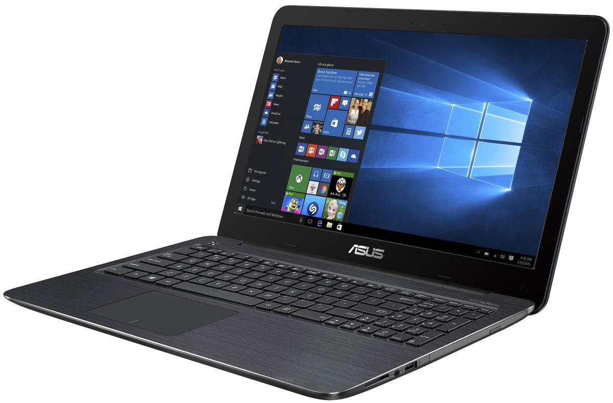 ASUS VivoBook X556UQ, Brown (X556UQ-XO256T)X556UQ-XO256TВысокая вычислительная мощь ноутбука Asus VivoBook X556UQ гарантирует быструю работу любых, даже самых ресурсоемких, приложений.Разработанная специалистами Asus технология Splendid позволяет быстро настраивать параметры дисплея в соответствии с текущими задачами и условиями, чтобы получить максимально качественное изображение. Она предлагает выбрать один из нескольких предустановленных режимов, каждый из которых оптимизирован под определенные приложения (фильмы, работа с текстом и т.д).Ноутбуки Asus серии X оснащаются качественной матрицей с разрешением вплоть до Full HD (1920x1080), которая дает возможность выводить изображение с высоким уровнем детализации. В специальном режиме Eye Care реализована фильтрация синей составляющей видимого спектра для повышения комфорта при чтении.Ноутбуки серии X556 оснащаются литий-полимерной батарей, которая поддерживает свыше 700 циклов зарядки, то есть в 2,5 раза больше, чем у стандартных литий-ионных аккумуляторов.Данная модель оборудована разъемами USB 3.0 Type-C, HDMI и VGA, а также кард-ридером SD/SDHC/SDXC для полной совместимости с широким спектром периферийных устройств. Компактный разъем USB Type-C имеет специальную конструкцию, которая позволяет подключать USB-кабель к ноутбуку любой стороной. При этом этот порт работает на скорости до 5 Гбит/с, то есть в 10 раз быстрее, чем USB 2.0. Это означает быструю передачу больших объемов информации, например видеофайлов.Ноутбуки X-серии оснащены полноразмерной клавиатурой с эргономичными клавишами. Оптимальный ход клавиш (1,8 мм) способствует точному отклику на нажатие, а благодаря цельной конструкции клавиатура не прогибается. Тачпад ноутбука поддерживает множество жестов: прикосновение, скроллинг, масштабирование, перетаскивание и т.д. За их корректное и быстрое распознавание отвечает специальная технология Asus Smart Gesture. Ключевой особенностью ноутбуков Asus с технологией IceCool является то, что горячие компоненты р