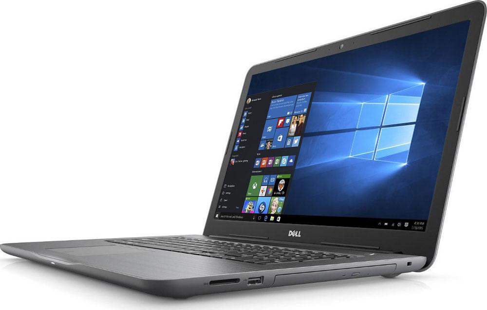 Dell Inspiron 5767 (2723), Black5767-2723Новый уровень развлечений и производительности благодаря 17,3-дюймовому ноутбуку Dell Inspiron 5767 со стильным, привлекательным дизайном, который объединяет в себе мощность настольного компьютера и яркий экран с разрешением Full HD. Ноутбук работает под управлением операционной системы Windows 10.Замените настольный компьютер на стильный ноутбук, обладающий функциями для повышения производительности, которые обеспечивают кинематографическое качество воспроизведения мультимедийных материалов. Ноутбук Dell Inspiron 5767 оснащен процессором Intel Core i7, встроенным дисководом оптических дисков, полноразмерным портом HDMI, USB 3.0 и устройством считывания карт памяти SD. Новый дизайн тоньше и легче, чем у предыдущих версий, поэтому компьютер проще переносить из комнаты в комнату. Жесткий диск позволяет хранить ваши файлы под рукой благодаря емкости системы хранения до 1 TБ. Оцените яркие изображения на 17-дюймовом дисплее нового ноутбука Inspiron - широкий экран с диагональю 17,3 дюйма создает полный эффект присутствия. Разрешение Full HD обеспечивает удивительную четкость благодаря увеличению числа пикселей на 37% по сравнению с обычными экранами высокой четкости. Чем бы вы ни занимались - микшированием, прослушиванием потокового аудио или общением, - технология Waves MaxxAudio обеспечивает более низкие басы, более высокие верхние ноты и фантастическое качество звучания.С помощью цифровой клавиатуры вы сможете эффективно работать с электронными таблицами, а большая сенсорная панель позволяет быстрее масштабировать и прокручивать содержимое, а также наводить на него указатель мыши.Точные характеристики зависят от модификации.Ноутбук сертифицирован EAC и имеет русифицированную клавиатуру и Руководство пользователя.