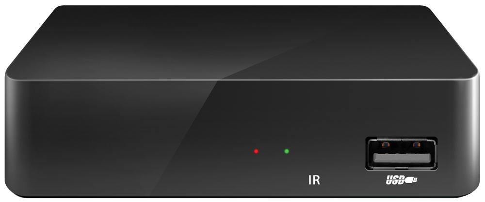 IconBIT Movie HDS T2 ТВ-ресиверMovie HDS T2IconBIT Movie HDS T2 - цифровой мультиформатный телевизионный ресивер. С помощью обычной домашней антенны цифровая приставка Movie HDS T2 принимает каналы цифрового эфирного телевидения стандартов DVB-T, DVB-T2 MPEG-2/MPEG-4 и радио для качественного воспроизведения на ЭЛТ-, ЖК- и плазменных телевизорах, домашних кинотеатрах, акустических системах.Интерактивная программа передач EPG (Electronic Program Guide) позволяет в любую минуту узнать расписание на экране. Подключенные через USB-порт внешние Mass Storage-устройства предоставляют доступ к функциям записи телепрограмм и Timeshift (включение паузы с возможностью последующего просмотра и перемотки).Высокая скорость управления и переключения каналов, благодаря новому высокопроизводительному процессору.Функция записи ТВ-сигнала (PVR)Совместимость с DVB-T и DVB-T2 стандартамиВстроенный медиаплеер