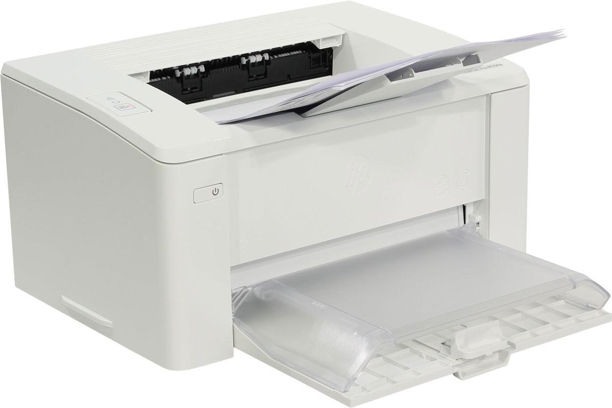 HP LaserJet Pro M104a лазерный принтерG3Q36A#B09Упростите свою работу с лазерным принтером HP LaserJet Pro M104a с картриджами на базе технологии JetIntelligence. Создавайте стабильные профессиональные документы на компактном лазерном принтере, созданном для эффективной работы.Ожидайте меньше с принтером HP LaserJet Pro M104a, печатающим быстрее, чем принтеры предыдущих поколений– до 23 страниц в минуту. Быстро получайте необходимые документы. Печать первых страниц занимает всего 7,3 секунды.Подключайте лазерный принтер HP LaserJet Pro M104a напрямую к компьютеру через входящий в комплект высокоскоростной разъем USB 2.0.Черный тонер обеспечивает высокую контрастность черно-белых текстов, шрифтов и графических изображений.Пусть альтернативы, имитирующие оригинальные технологии HP, не вводят вас в заблуждение. Получите качество, за которое вы заплатили.Отслеживайте уровень тонера с технологией Print Gauge и используйте ресурсы печати по максимуму. Быстро заменяйте картриджи с автоматическим удалением блокировки и легко открывающимися корпусами.