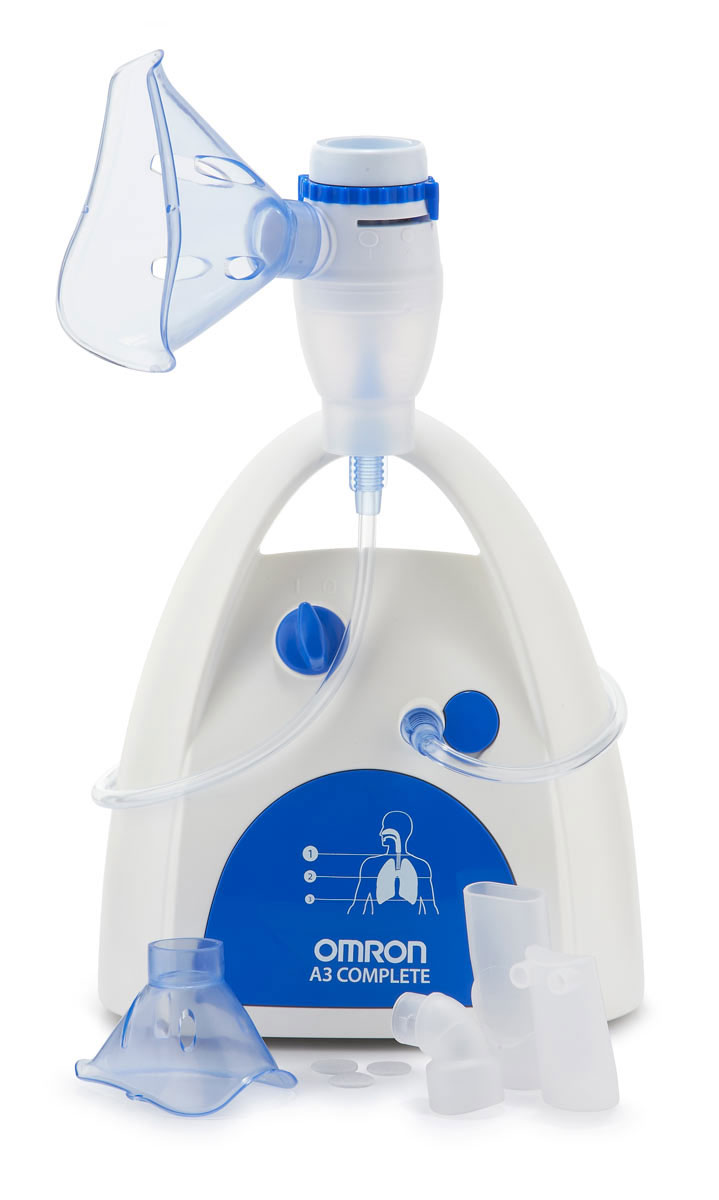 Ингалятор компрессорный Omron NE-C300 CompleteУТ0000017403 режима ингаляции: быстрый лечебный эффект от верхних до нижних дыхательных путей. Объем резервуара для лекарственных средств: 12 мл. Комплект поставки:Компрессор, небулайзерная камера, воздуховодная трубка (ПВХ, 100 см), загубник, насадка для носа, маска для взрослых (ПВХ), маска для детей (ПВХ), запасные воздушные фильтры (3 шт.), сумка для хранения, руководство по эксплуатации, гарантийный талон.