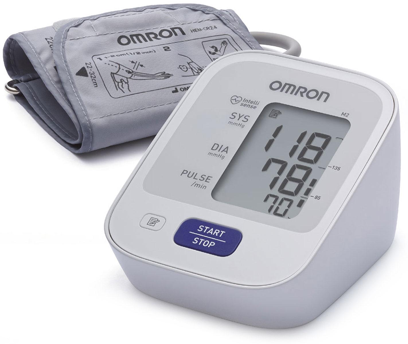 Omron M2 Basic тонометр + адаптер HEM-7121-ARUУТ000001757Предупредить инсульт в ваших силах! Тонометр Omron помогает контролировать артериальную гипертонию — основной фактор риска развития инсульта. Работает с детской манжетой 17-22 см - контроль оптимального давления в манжетеКомплект поставки:Электронный блок, манжета компрессионная CM, руководство по эксплуатации, чехол для хранения прибора, комплект элементов питания, журнал для записи артериального давления, гарантийный талон