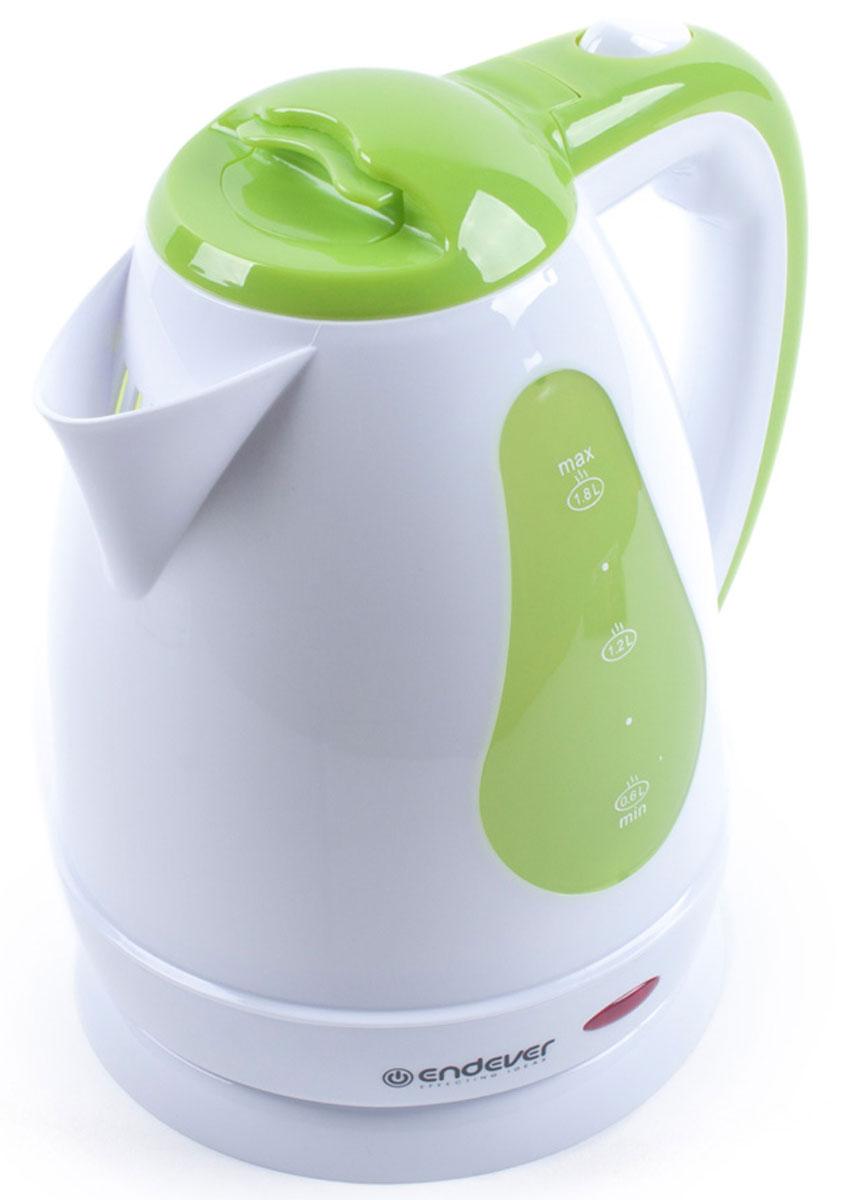 Endever Skyline KR-350 чайник электрическийKR-350Дисковый нагревательный элемент чайника Endever Skyline KR-350 обеспечивает надежность и долговечность. Эргономичная ненагревающаяся ручка оптимальна для безопасного разлива, а индикатор уровня воды позволяет контролировать количество воды в чайнике. Беспроводное соединение позволяет вращать чайник на подставке на 360°.