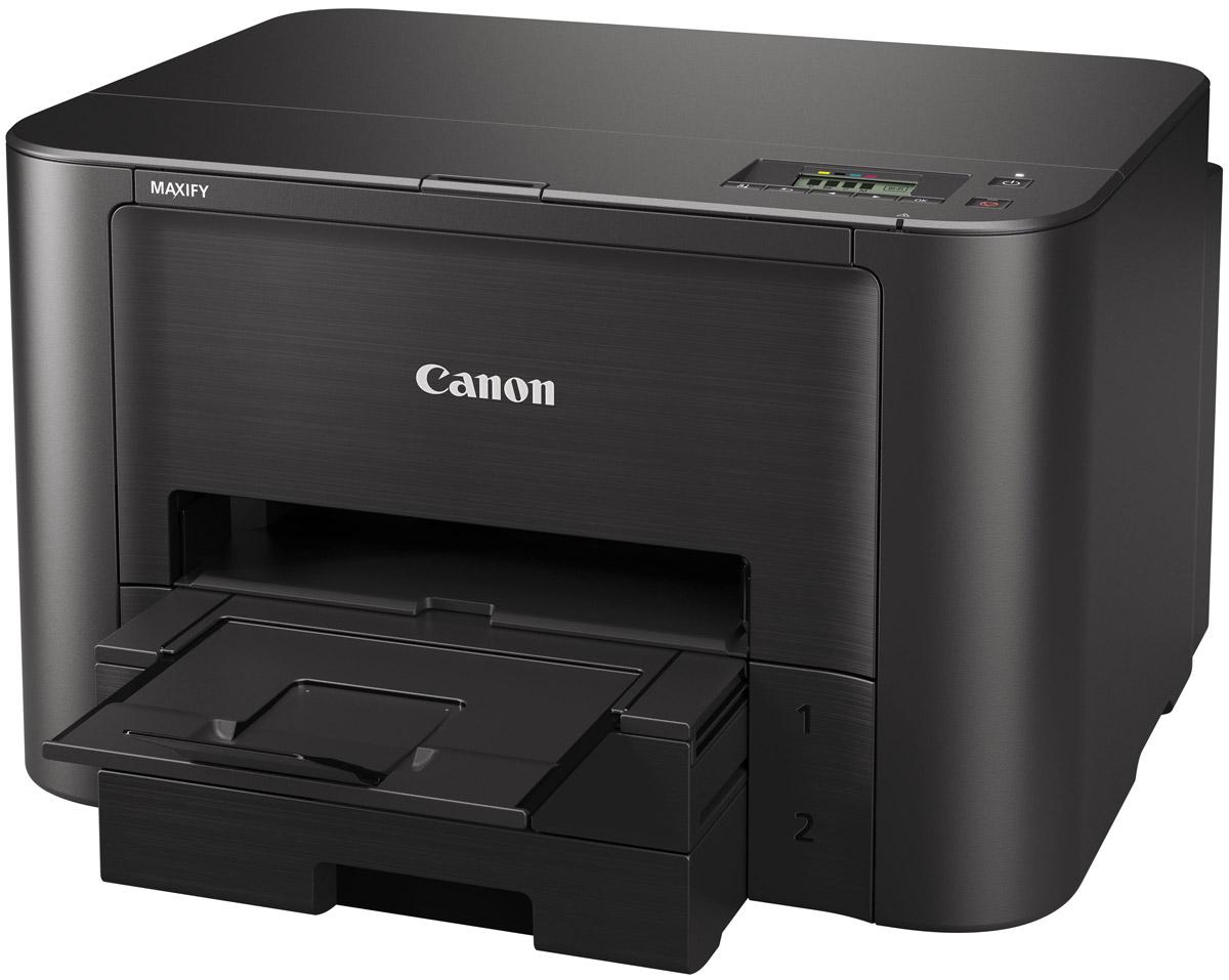 Canon MAXIFY iB4040 принтер9491B007Canon MAXIFY iB4040 - принтер для небольших офисов с высокой скоростью печати, встроенными модулями Wi-Fi и Ethernet, а также поддержкой мобильной и облачной печати. Оснащен функцией двусторонней печати и чернильницами большого объема. Обеспечивает высокое качество печати бизнес документов.Теперь вам не придется подолгу ждать, пока напечатаются бизнес документы. Этот принтер печатает документы A4 ISO со скоростью 23 изображений в минуту в монохромном режиме и 15 изображений в минуту в цветном режиме, а благодаря технологии Quick First Print время печати первого листа составляет всего около 7 секунд.Высокая производительность плюс поддержка онлайн-работы. Этот надежный и быстрый принтер разработан специально для небольших офисов с месячным объемом печати 250-1500 страниц. Поддержка Wi-Fi и Ethernet, профессиональное качество печати и элементы управления использованием для дополнительного контроля — просто идеальный выбор.Чернила DRHD гарантируют четкость текста и яркие цвета. Эти пигментные чернила отличаются высокой стойкостью (не выцветают со временем), устойчивы к стиранию и маркерам и поэтому идеально подходят для печати бизнес документов.Ресурс чернильниц XL составляет 2 500 страниц для цветной и 1 500 страниц для монохромной печати для формата A4. Чернильницы можно заменять по отдельности, что обеспечивает максимум эффективности и минимум отходов. Для дополнительной экономии вы также можете приобрести набор (4 цвета) для замены чернил всех цветов.Технология MAXIFY Cloud Link позволяет выполнять печать прямо из популярных облачных ресурсов (например, Evernote, Dropbox, OneDrive и Google Drive) со смартфона через приложение MAXIFY Printing Solutions. Поддерживаются также сервисы Apple AirPrint и Google Cloud Print.
