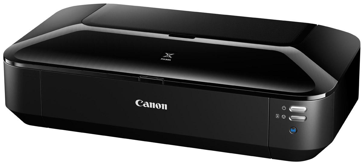 Canon Pixma iX6840 принтер8747B007Canon PIXMA iX6840Компактный высокопроизводительный беспроводной офисный принтер A3+Этот высокопроизводительный офисный принтер A3+ предлагает подключение через Wi-Fi и Ethernet, а также печать с мобильных устройств. 5 раздельных картриджей обеспечивают превосходное качество деловых документов и фотографий