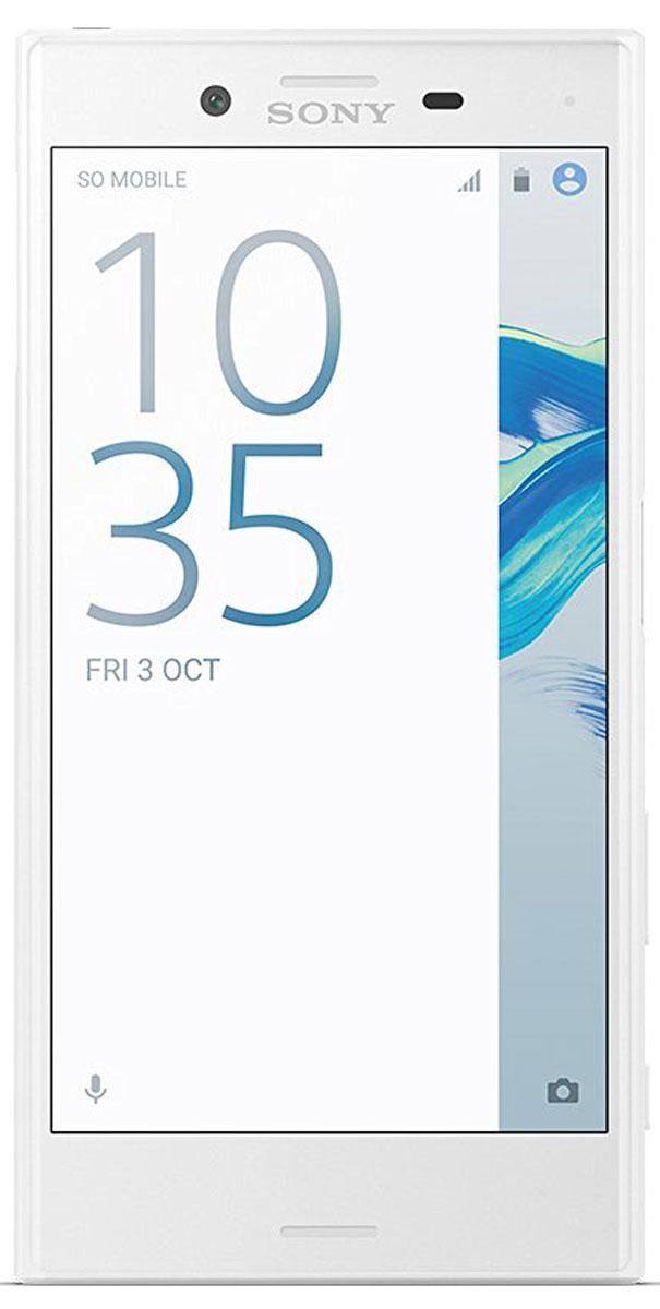 Sony Xperia X Compact, White7311271573968Компактный смартфон с камерой, способной запечатлеть все моменты жизни на четких снимках.Для Xperia X Compact движение не помеха. Благодаря технологии взаимодействия трех сенсоров, вы сможете четко снять движущиеся объекты даже при тусклом освещении. Вы никогда не упустите удачный кадр, поскольку смартфон имеет компактный размер 4,6 дюйма, и его удобно носить с собой.Хорошая фотография - та, которую не нужно обрабатывать. Благодаря сенсору RGBC-IR в Xperia X Compact изображение на снимке будет таким, как вы его видите своими глазами. Цвета будут всегда яркими и реалистичными, а фильтры больше не понадобятся.Камера на 23 Мпикс запечатлеет даже самые мимолетные мгновения. Это самая быстрая камера от Sony, которая переходит из режима ожидания в режим съемки за 0,6 секунды. Быстрый запуск, специальная кнопка съемки и быстрая обработка изображений позволят вам запечатлеть самые быстротечные и неожиданные моменты жизни.В Xperia X Compact сочетаются удобство, комфорт и стиль. Благодаря плавным закругленным краям смартфон отлично лежит в руке, а его компактный размер удобен для использования одной рукой. Уникальный дизайн Xperia X Compact отражен во всех элементах практически глянцевого корпуса.Xperia X Compact умнеет с каждым днем: он изучает ваши привычки и адаптируется под особенности использования.Частая зарядка негативно влияет на аккумуляторы большинства смартфонов. В Xperia X Compact используется интеллектуальная технология, которая следит, чтобы срок службы аккумулятора не сокращался. Она адаптируется к тому, как вы заряжаете смартфон, и в результате аккумулятор служит вдвое дольше.Благодаря поддержке звука высокого разрешения и технологии цифрового подавления шума никакие посторонние звуки не помешают вам наслаждаться любимой музыкой.HD-дисплей, созданный на основе телевизионных технологий Sony BRAVIA, позволит рассмотреть все детали.Xperia X Compact автоматически распознает ваши привычки в использовании смартфона и отобража