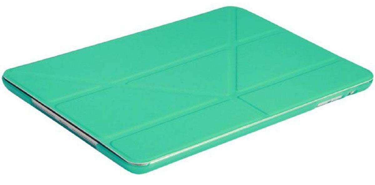 IT Baggage чехол для Apple iPad Pro 9,7, TurquoiseITIPADPRO97-6Чехол IT Baggage для планшета Apple iPad Pro 9,7 надежно защищает ваше устройство от случайных ударов и царапин, а так же от внешних воздействий, грязи, пыли и брызг. Крышку можно использовать в качестве настольной подставки для вашего устройства. Чехол приятен на ощупь и имеет стильный внешний вид.Он также обеспечивает свободный доступ ко всем функциональным кнопкам планшета и камере.