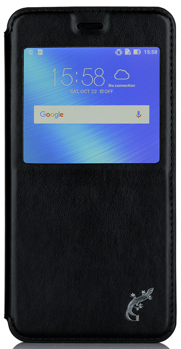 G-Case Slim Premium чехол для Asus ZenFone 3 Max ZC520TL, BlackGG-742Чехол-книжка G-Case Slim Premium для Asus ZenFone 3 Max (ZC520TL) c окошком надежно защитит ваш смартфон от пыли, грязи, царапин, оставив при этом свободный доступ ко всем разъемам устройства. Также имеется возможность использования чехла в виде настольной подставки. Чехол G-Case Slim Premium - это стильная и элегантная деталь вашего образа, которая всегда обращает на себя внимание среди множества вещей.