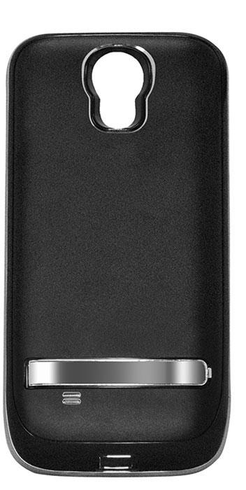 EXEQ HelpinG-SC07 чехол-аккумулятор для Samsung Galaxy S4, Black (2600 мАч, клип-кейс)HelpinG-SC07 BLExeq HelpinG-SС07 – стильный и надежный аксессуар для Samsung Galaxy S4. Компактные размеры, элегантный дизайн и прочный материал корпуса позволят Exeq HelpinG-SС07 не только надежно защитит смартфон от ударов, грязи и царапин, но придадут телефону стильный внешний вид! Встроенный аккумулятор емкостью в 2600 мАч обеспечит смартфон своевременной подзарядкой в самые нужные моменты его использования. Специальная металлическая выдвижная подставка позволит удобно расположить телефон при просмотре видео, общении по Skype, чтении книг.Заряжать телефон можно не извлекая его из чехла, просто подключив адаптер смартфона к чехлу-аккумулятору и нажав кнопку питания на чехле (если кнопку не нажимать, то будет происходить зарядка аккумулятора чехла). Также Exeq HelpinG-SС07 обеспечивает идеальную передачу данных при подключении смартфона к компьютеру или другому электронному устройству.