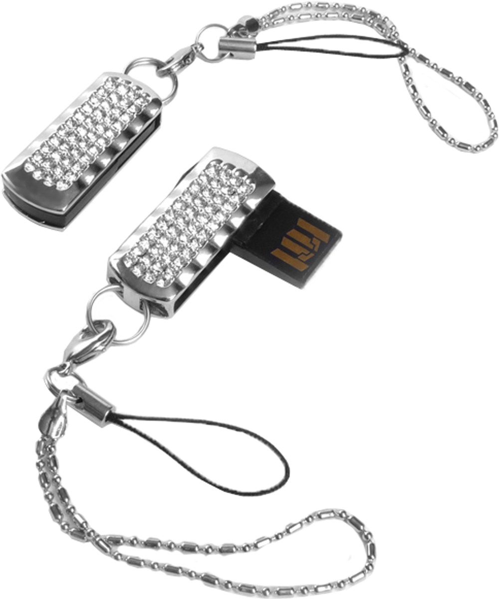 QUMO Ice Crystal 8GB USB-накопитель