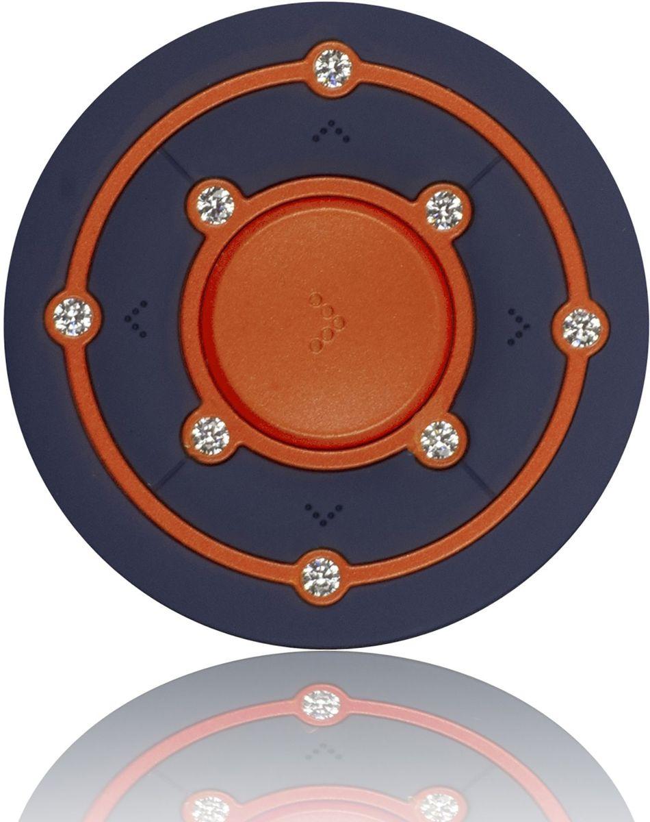Ritmix RF-2850 8Gb, Orange/Blue MP3-плеер15118342Ritmix RF-2850 - это компактный MP3-плеер, предназначенный для тех, кто ценит стиль и индивидуальность. Круглый корпус украшен Swarovski Zirconia, которые придают устройству неповторимый шарм.Плеер оснащён надёжным креплением в форме клипсы, что несомненно обрадует любителей активного образа жизни.