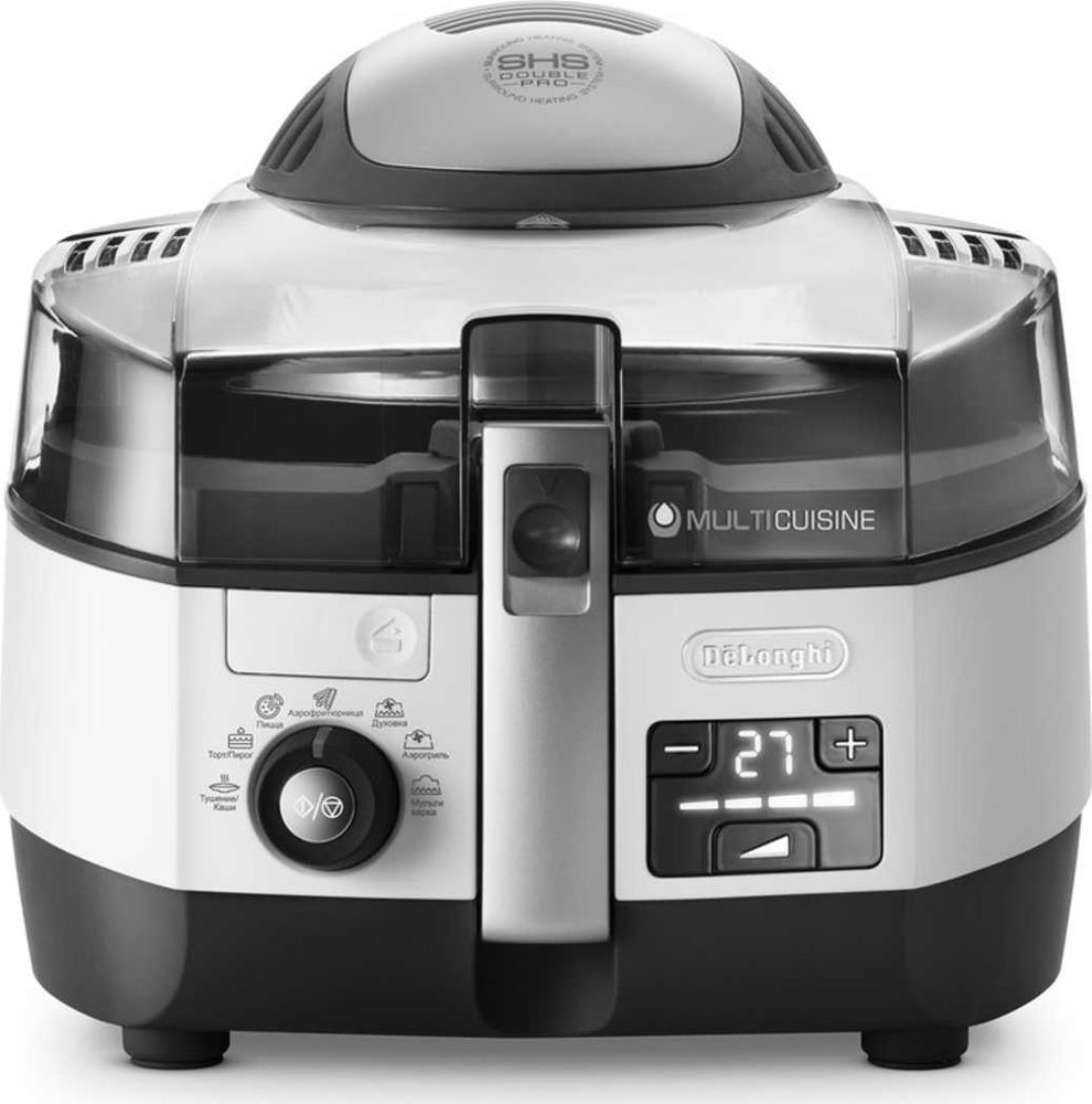 DeLonghi FH1394/1, White мультиварка delonghi fh 1394 white