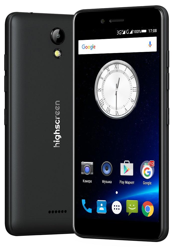 Highscreen Easy S Pro, Black