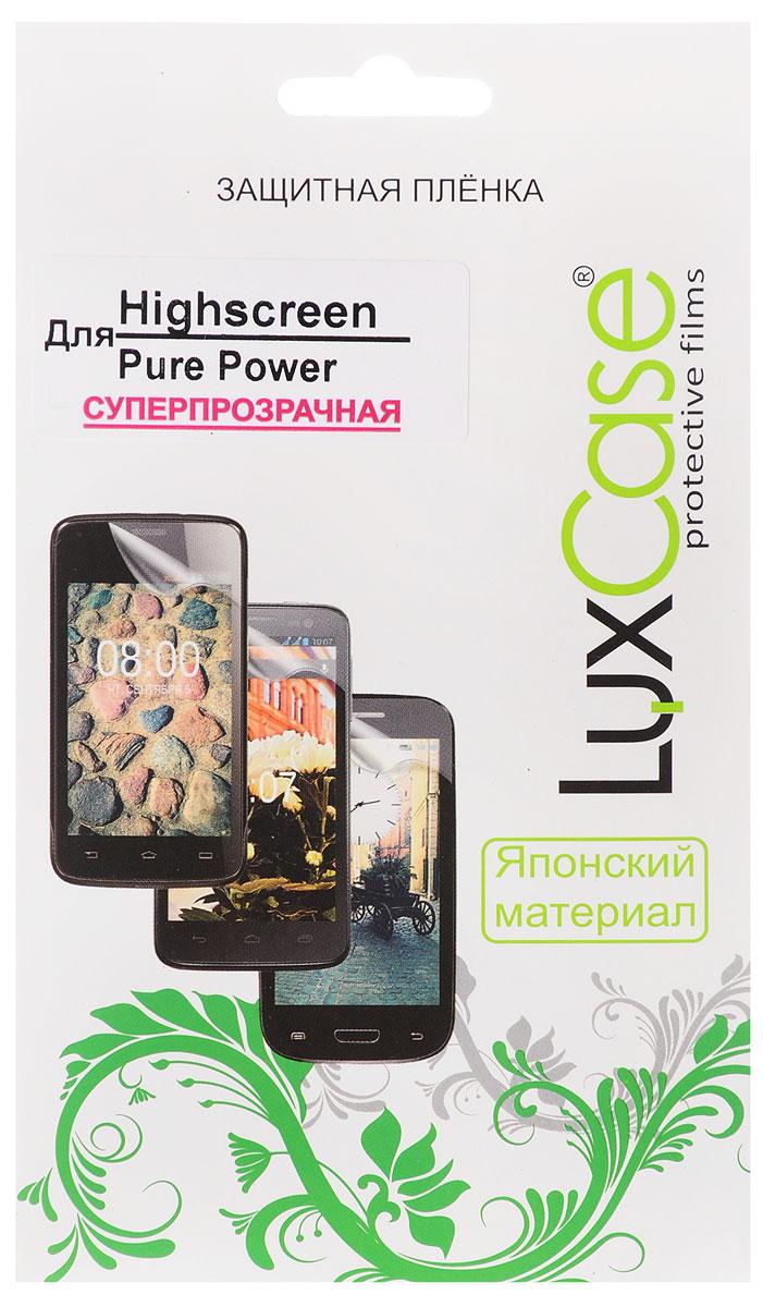 LuxCase защитная пленка для Highscreen Pure Power, суперпрозрачная51Защитная пленка LuxCase для Highscreen Pure Power сохраняет экран смартфона гладким и предотвращает появление на нем царапин и потертостей. Структура пленки позволяет ей плотно удерживаться без помощи клеевых составов и выравнивать поверхность при небольших механических воздействиях. Пленка практически незаметна на экране смартфона и сохраняет все характеристики цветопередачи и чувствительности сенсора.