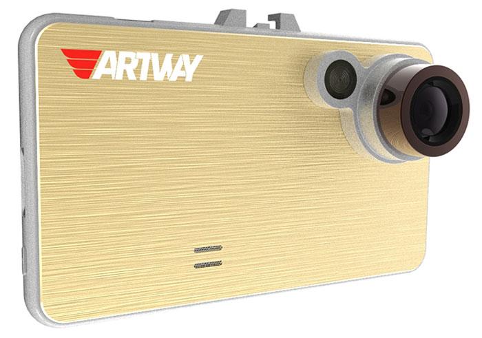 Artway AV-111, Gold видеорегистратор4620019033514Для всех, кто ценит в девайсах простоту управления и практичность, видеорегистратор Artway AV-111 станет идеальным решением. Его отличает современный прогрессивный дизайн, который делает устройство легким в использовании.Большой и яркий дисплей диагональю 2,4 с высоким разрешением позволит вам с комфортом просматривать отснятые видеоролике на самом видеорегистраторе, разглядеть все детали или c удобством управлять настройкой видеорегистратора.Видеорегистратор записывает короткие видеоролики, длительностью 1, 2, 3 или 5 минут на карту памяти. В зависимости от объема, карта памяти будет заполнена через 5 -10 часов. Чтобы не стирать старые файлы вручную, процессор видеорегистратора сам будет стирать самые старые по дате и времени файлы, заменяя их новыми. Выбрать длительность видеоролика — 1, 2, 3 или 5 минут — можно самостоятельно, зайдя в настройки меню.Наличие функции штампа позволяет установить дату и время в файле видеозаписи, а также добавить государственный номер своего автомобиля. Наличие этой информации будет являться дополнительным доводом для принятия видеозаписи в суде в качестве доказательства своей правоты.