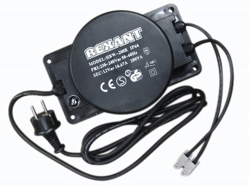 Трансформатор 220-24V 400 Вт326-111Трансформатор для Клип-лайта, 220-24 В, мощность 400 Вт