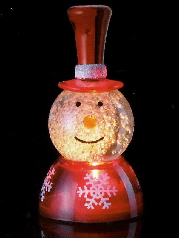 Фигура светодиодная Neon-Night Новогодний шар, на подставке, RGB, высота 7 см501-050Светодиодная фигура на подставке Neon-Night Новогодний шар станет прекрасным украшением домашнего интерьера, рабочего стола или послужит просто символичным новогодним комплиментом. Фигура работает от батарейки CR1220 (в комплекте), плавная смена цвета (RGB) создаст приятное праздничное настроение.