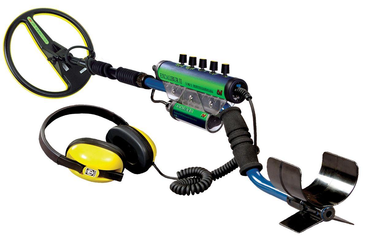 Металлоискатель Minelab Excalibur II, катушка 10  - Металлоискатели