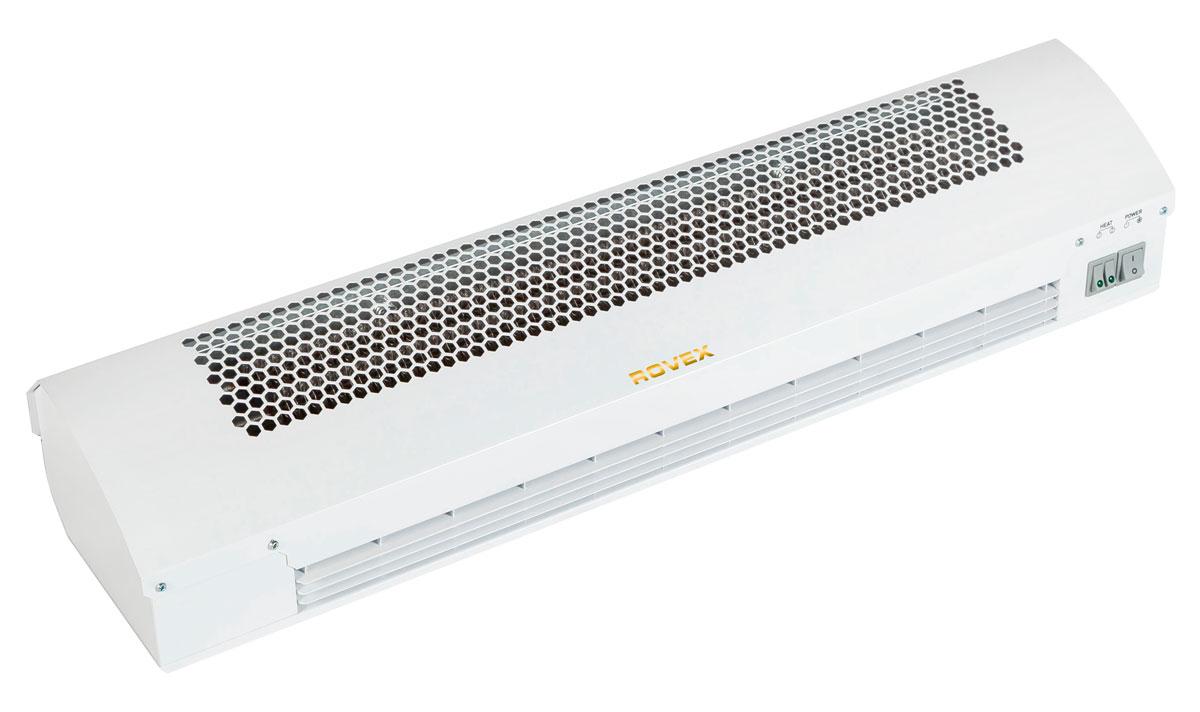 Rovex RZ-0508С тепловая завесаRZ-0508СПринцип работы тепловой завесы Rovex RZ-0508С таков: установленный в приборе вентилятор создает направленный поток теплого воздуха. Так образуется воздушная завеса, не позволяющая проникать воздушным массам в помещение, понижая при этом температуру. Тепловая завеса часто используется в торговых центрах, магазинах, ресторанах и промышленных предприятиях, где необходимо защитить помещение от пыли, грязи, холода или жары.Каждая тепловая завеса из серии «RZ» обладает такими преимуществами:Высокой мощностью и энергосбережением. Электрические воздушные завесы помогают сэкономить на отоплении помещений больших площадей. Кроме того, в устройства встроен СТИЧ - нагревательный элемент, способный быстро нагревать поток воздуха.Универсальностью. Электрическая завеса может работать в разных климатических условиях, несмотря на влагу и температуру воздуха.Надежностью. Устройства прослужат не один десяток лет.Безопасностью. Такое тепловое оборудование не перегревается и входит в число невзрывоопасной техники.Удобством пользования. Воздушные тепловые завесы электрические достаточно подключить к сети и использовать пульт управления.Простым монтажом. Установка тепловых завес проходит за несколько минут, достаточно ознакомиться с инструкцией.Низким уровнем шума.Элегантным дизайном. Тепловая завеса электрическая имеет современный, привлекательный стиль, который позволяет вписать технику в интерьер помещения.Доступной стоимостью. Купить завесу может каждый, ведь цена тепловых завес зависит от габаритов устройств и других их технических характеристик.