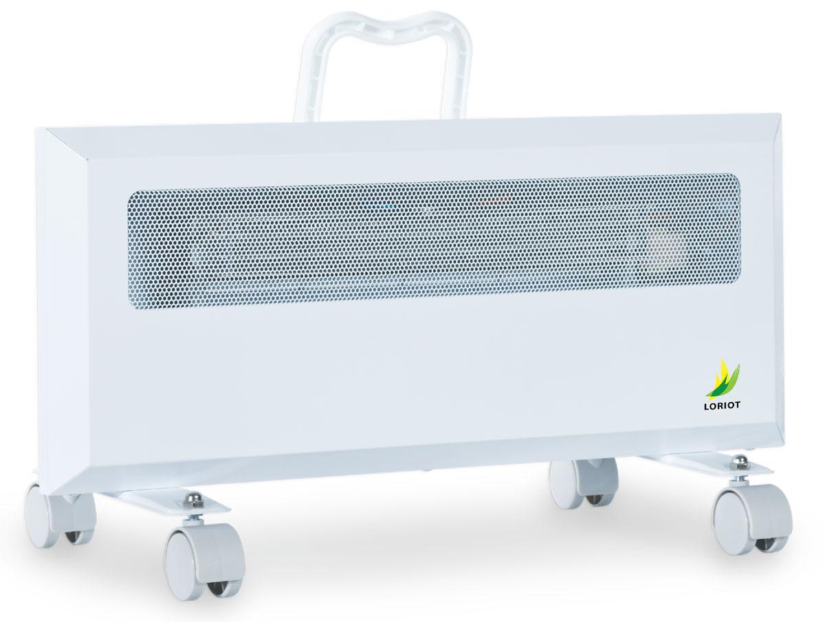 Loriot LHY 10/20 конвектор-тепловентиляторLHY 10/20Электрический конвектор Loriot LHY 10/20 предназначен для основного или дополнительного обогрева помещений. Может применяться в бытовых, служебных, производственных и складских помещениях малого метража. Основное преимущество электрического конвектора в сравнении с другими типа обогревателей в том, что принцип работы основан на естественной конвекции воздуха, что позволяет быстрее иэффективнее обогревать обслуживаемое помещение.