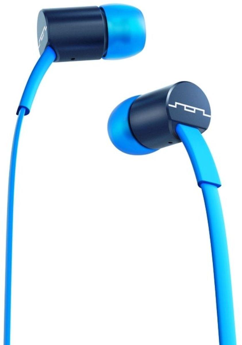 Sol Republic 1111-36 Jax Mfi, Blue Stellar наушники1111-36Внутриканальные наушники Sol Republic 1111 - это качественный звук, который всегда под рукой. Благодаря динамикам i2 Sound Engine наушники выдают мощное и насыщенное басами звучание, которое превзойдет ваши ожидания. Наушники снабжены плоским кабелем, а значит, вам не придется тратить кучу времени на распутывание проводов. Интегрированный трехкнопочный пульт ДУ с микрофоном позволят управлять воспроизведением, громкостью и отвечать на телефонные звонки. Комплект из сменных насадок четырех размеров обеспечит комфорт и прекрасную звукоизоляцию для использования наушников в транспорте или в другой шумной обстановке. В комплекте фирменный чехол.