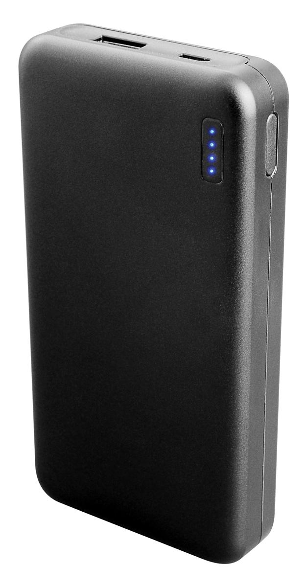 IconBIT FTB10000FC, Black внешний аккумуляторMCI54489IconBIT FTB10000FC - портативный аккумулятор с функцией быстрой зарядки. Подойдет для зарядки мобильных устройств с USB входом: планшетных компьютеров, телефонов, смартфонов. Заряжается от любого зарядного устройства или компьютера с USB портом.Корпус из огнеупорного текстурированного пластикаСмарт-чип с повышенным уровнем безопасностиБыстрая зарядка благодаря чипу IP5306 (2.1A вход, 2.4A выход)