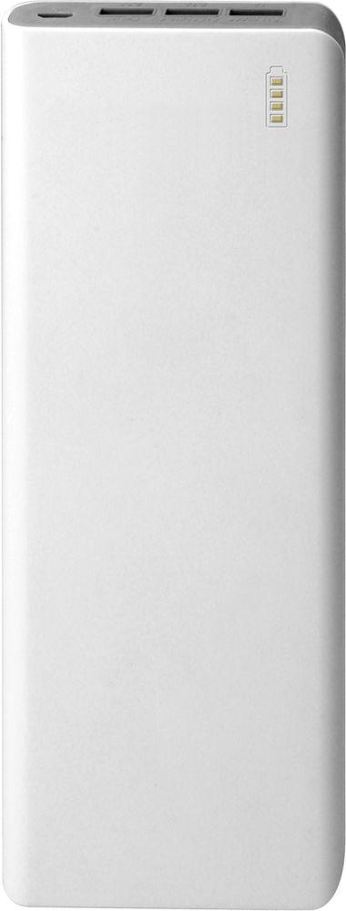 IconBIT FTB20000PB, White Grey внешний аккумуляторMCI54493Портативный аккумулятор IconBIT FTB20000PB заряжает большинство мобильных устройств с USB входом.Оставайтесь всегда на связи с FTB20000PB. Универсальный компактный размер не даст вашему телефону разрядиться где бы вы ни были: в путешествии, на работе или на природе.Встроенная защита от перегрева, перезаряда и короткого замыканияАвтоматическое отключение, когда подключенное устройство заряженоВысококачественные литий-ионные элементы питания 18650До 1200 часов в режиме ожиданияЗарядка трех устройств одновременно