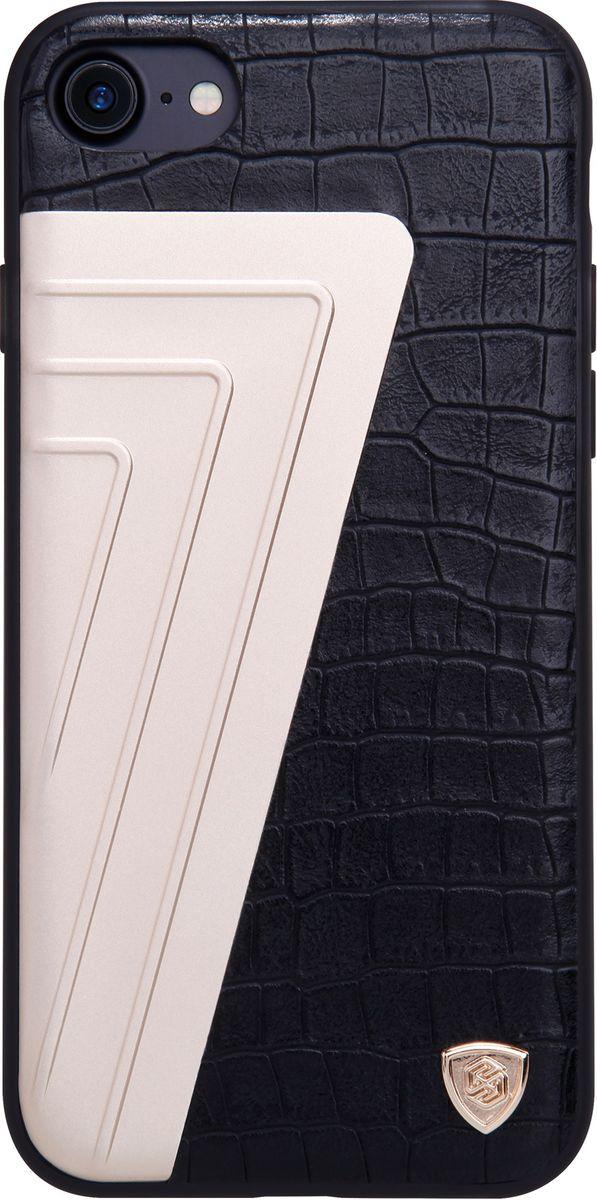 Nillkin HyBrid Case чехол для Apple iPhone 7, Black2000000105949Чехол Nillkin HyBrid Case для Apple iPhone 7 изготовлен из высококачественных материалов. Элегантный дизайн, чехол приятен на ощупь. Жесткость чехла предотвращает телефон от повреждений во время транспортировки. Размер чехла точно соответствует размеру телефона с четким соответствием всех функциональных отверстий.